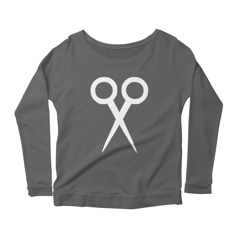 Meeting Comics: Ribbon Cutter Logo Women's Scoop Neck Longsleeve T-Shirt by Wander Lane Threadless Shop