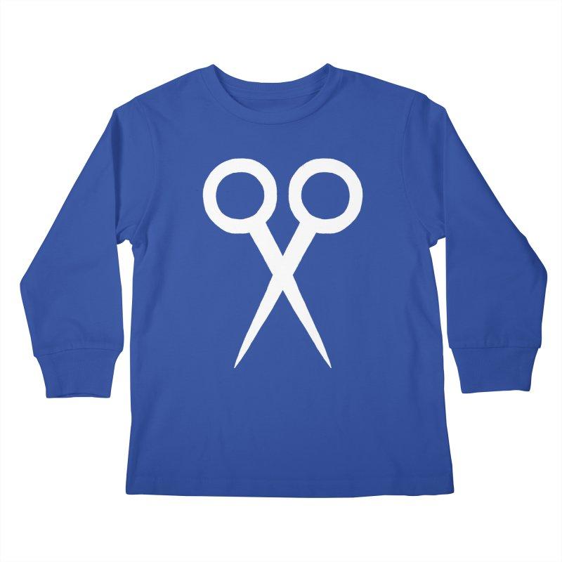 Meeting Comics: Snipsey Russell Logo Kids Longsleeve T-Shirt by Wander Lane Threadless Shop