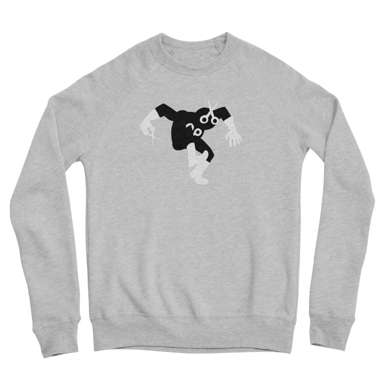 Meeting Comics: The Ribbon Cutter Returns Men's Sponge Fleece Sweatshirt by Wander Lane Threadless Shop