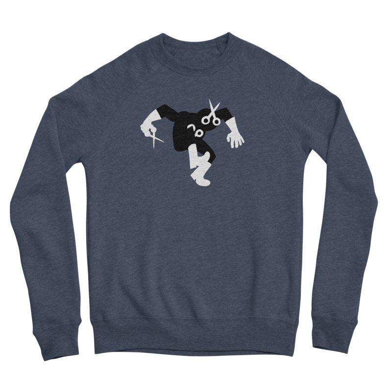 Meeting Comics: The Ribbon Cutter Returns Women's Sponge Fleece Sweatshirt by Wander Lane Threadless Shop