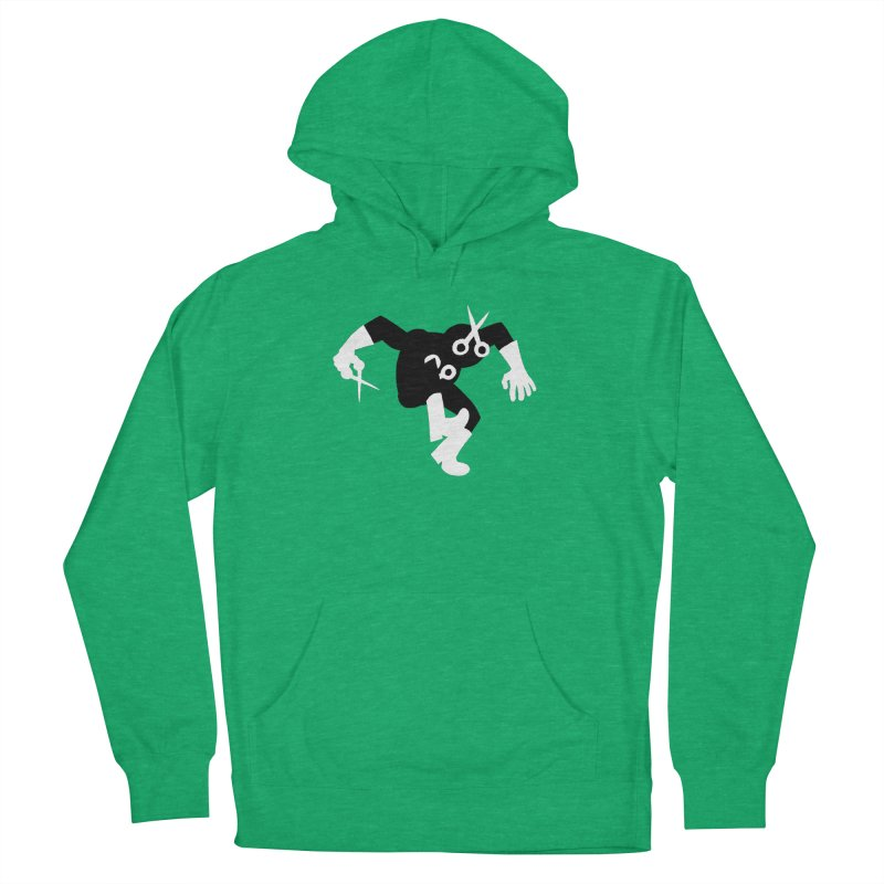 Meeting Comics: The Ribbon Cutter Returns Women's French Terry Pullover Hoody by Wander Lane Threadless Shop