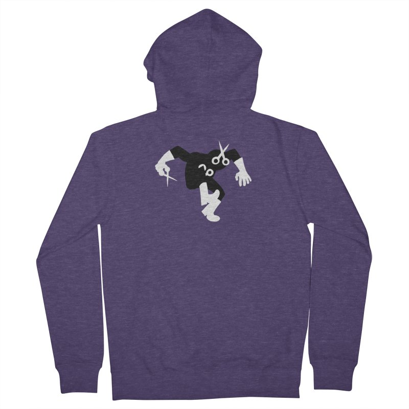 Meeting Comics: Snipsey Russell Returns Men's French Terry Zip-Up Hoody by Wander Lane Threadless Shop