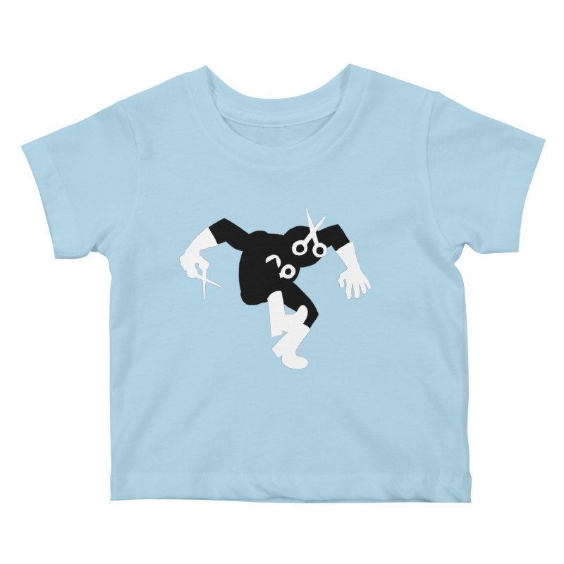 Meeting Comics: The Ribbon Cutter Returns Kids Baby T-Shirt by Wander Lane Threadless Shop