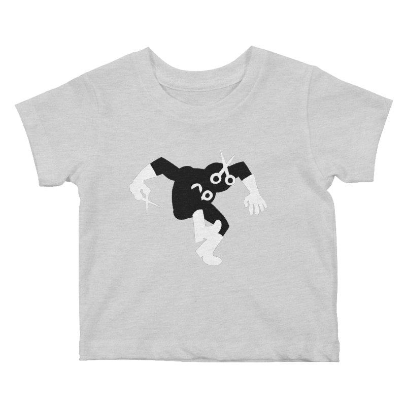 Meeting Comics: Snipsey Russell Returns Kids Baby T-Shirt by Wander Lane Threadless Shop