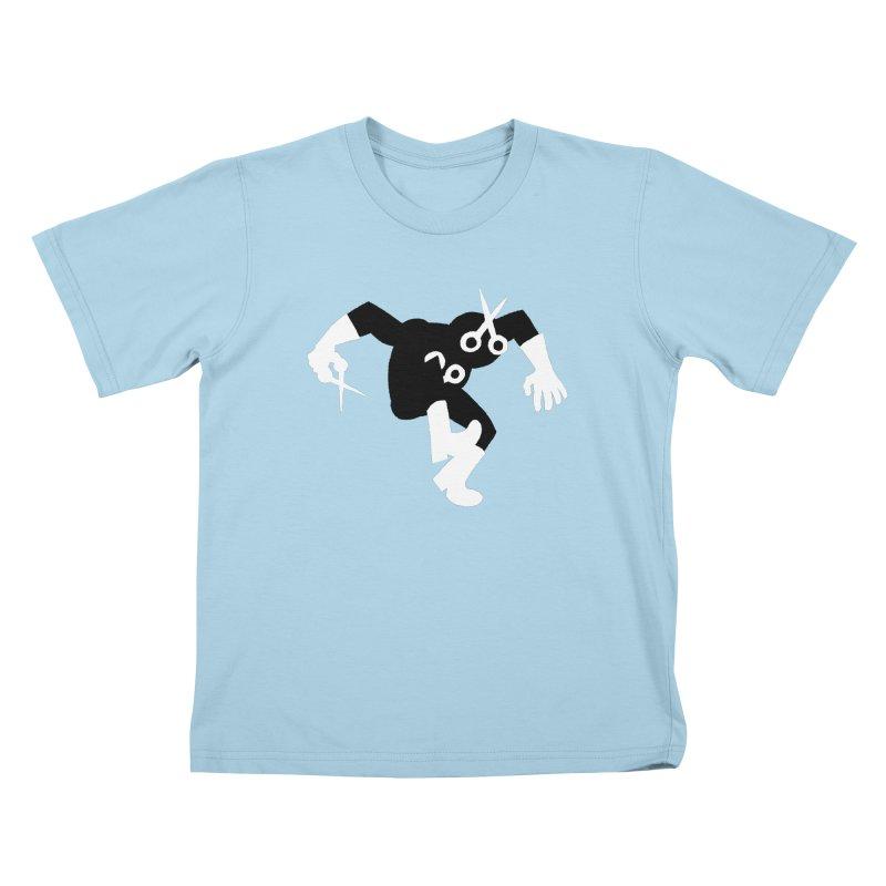 Meeting Comics: Snipsey Russell Returns Kids T-Shirt by Wander Lane Threadless Shop