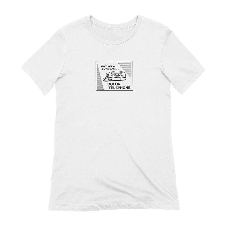 GAY AS A SUNBEAM... Women's Extra Soft T-Shirt by Wander Lane Threadless Shop
