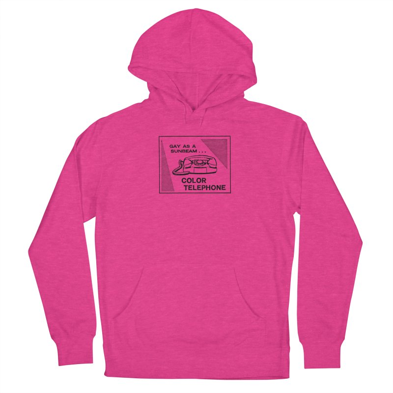 GAY AS A SUNBEAM... Women's French Terry Pullover Hoody by Wander Lane Threadless Shop