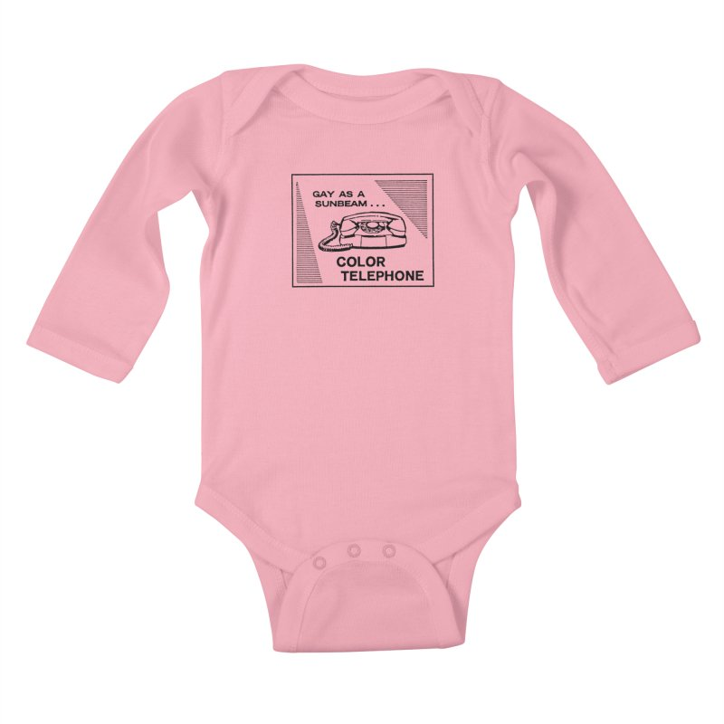 GAY AS A SUNBEAM... Kids Baby Longsleeve Bodysuit by Wander Lane Threadless Shop