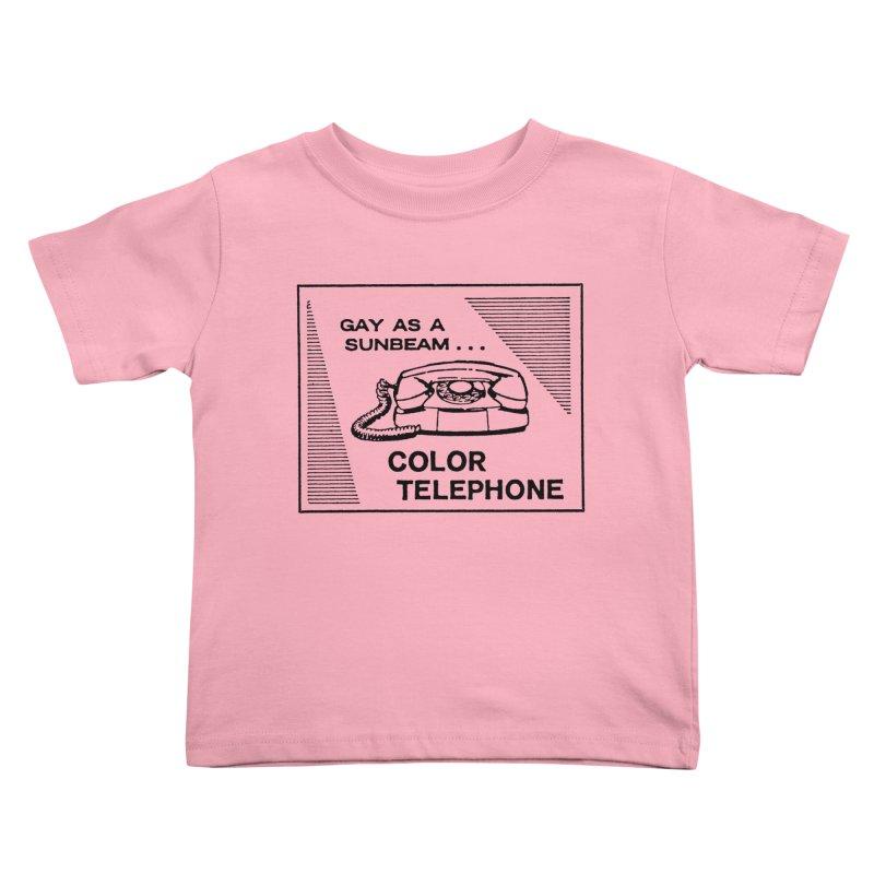 GAY AS A SUNBEAM... Kids Toddler T-Shirt by Wander Lane Threadless Shop