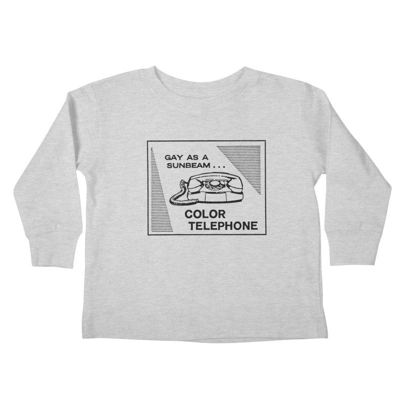 GAY AS A SUNBEAM... Kids Toddler Longsleeve T-Shirt by Wander Lane Threadless Shop