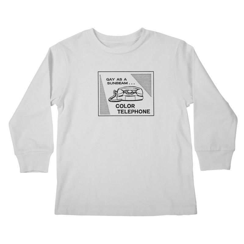 GAY AS A SUNBEAM... Kids Longsleeve T-Shirt by Wander Lane Threadless Shop