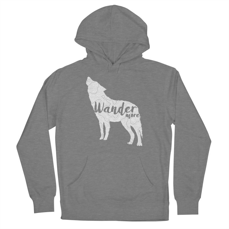 The Lone Wolf - Ladies Women's Pullover Hoody by Wanderluster