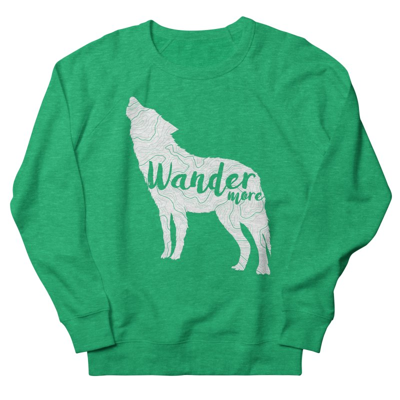 The Lone Wolf - Ladies Women's Sweatshirt by Wanderluster
