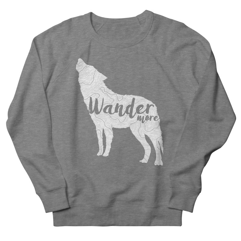 The Lone Wolf - Ladies Women's Sweatshirt by Wanderluster