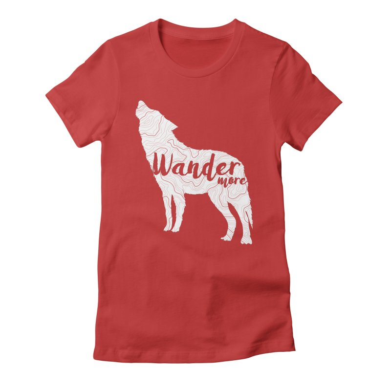 The Lone Wolf - Ladies Women's T-Shirt by Wanderluster