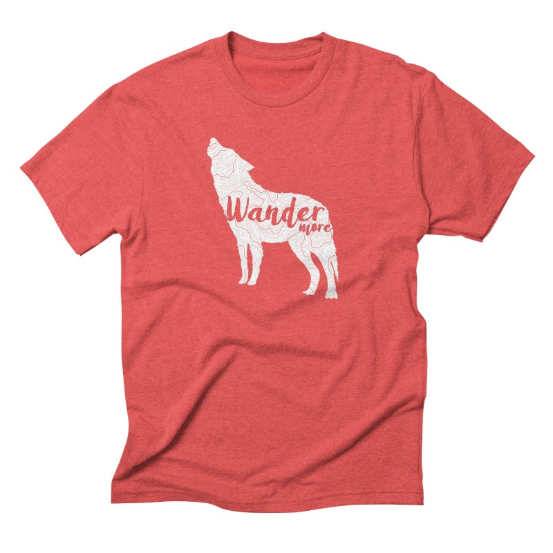 The Lone Wolf - Guys Men's T-Shirt by Wanderluster