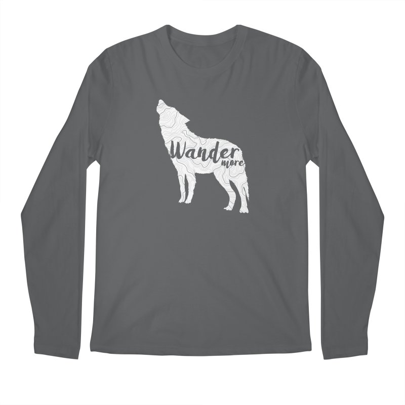 The Lone Wolf - Guys Men's Longsleeve T-Shirt by Wanderluster
