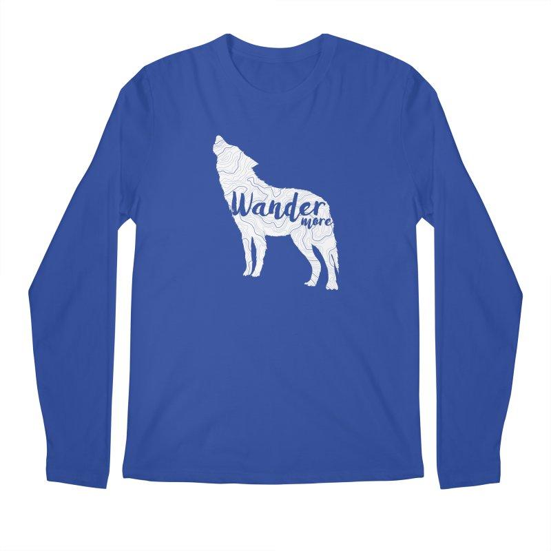 The Lone Wolf - Guys Men's Regular Longsleeve T-Shirt by Wanderluster