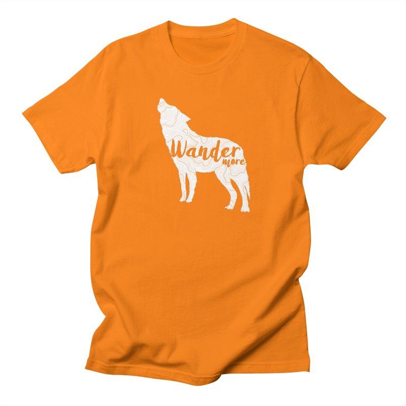 The Lone Wolf - Guys Men's Regular T-Shirt by Wanderluster