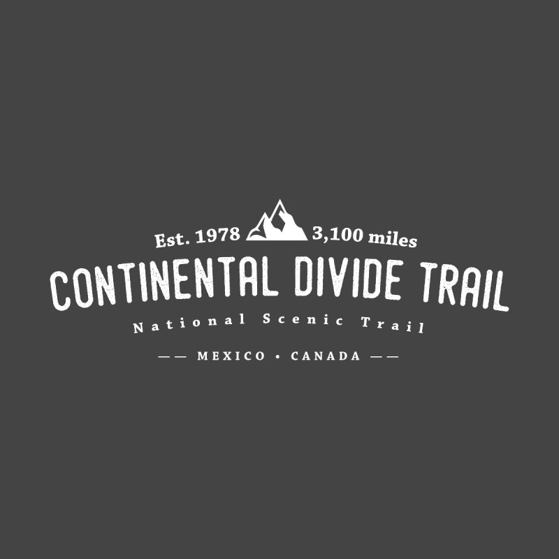 Continental Divide National Scenic Trail Men's T-Shirt by Wanderluster