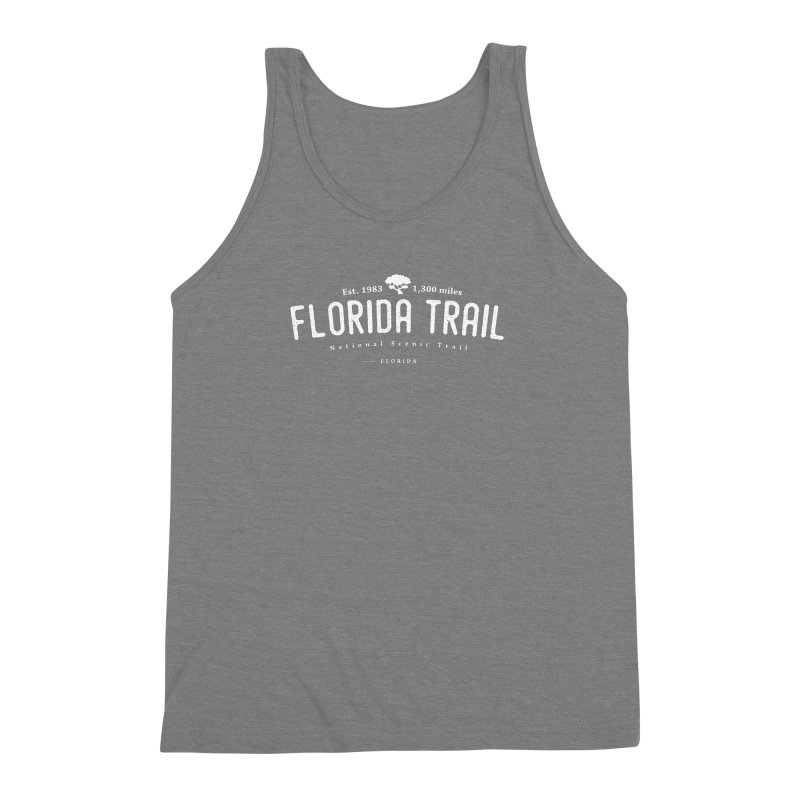 Florida National Scenic Trail Men's Triblend Tank by Wanderluster