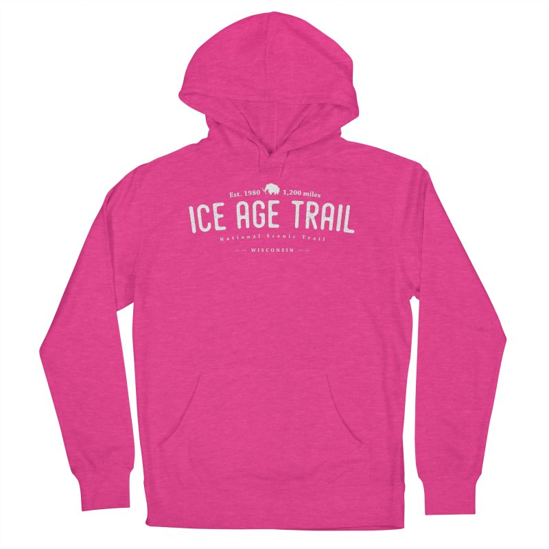 Ice Age National Scenic Trail Men's French Terry Pullover Hoody by Wanderluster