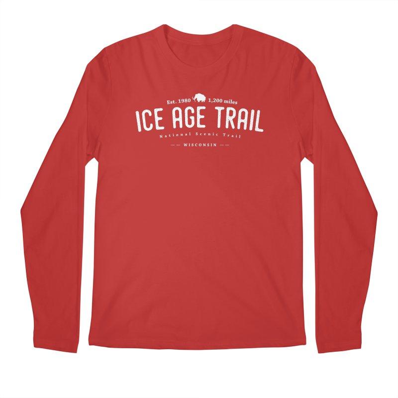 Ice Age National Scenic Trail Men's Regular Longsleeve T-Shirt by Wanderluster