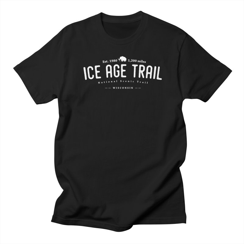 Ice Age National Scenic Trail Men's Regular T-Shirt by Wanderluster
