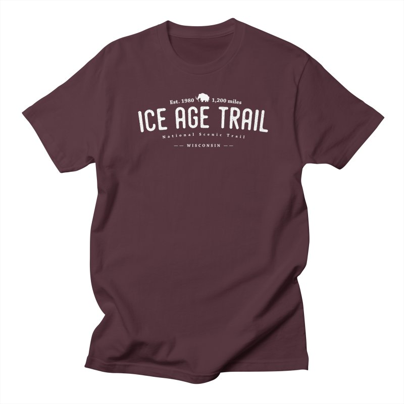 Ice Age National Scenic Trail Men's T-Shirt by Wanderluster