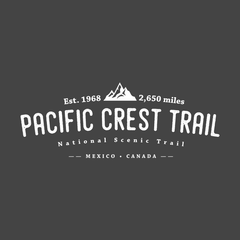 Pacific Crest National Scenic Trail Men's Pullover Hoody by Wanderluster