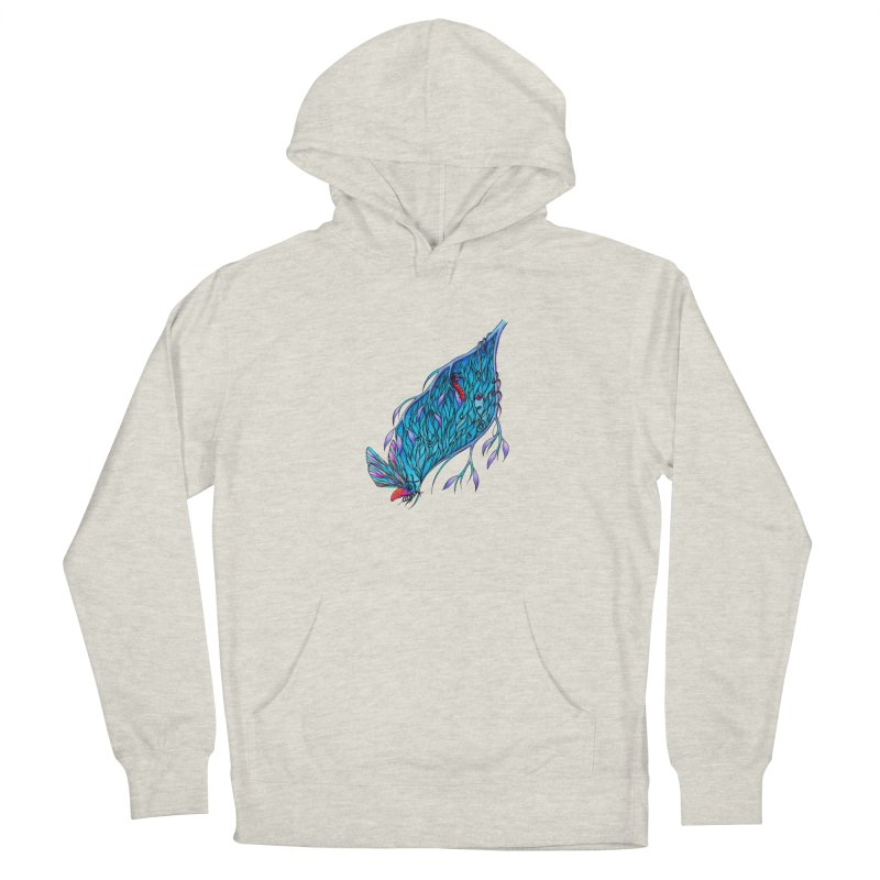 Blue Men's Pullover Hoody by WarduckDesign's Artist Shop