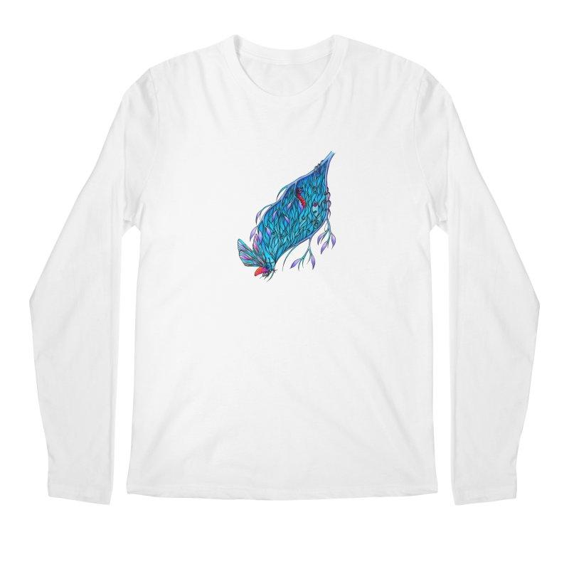 Blue Men's Longsleeve T-Shirt by WarduckDesign's Artist Shop