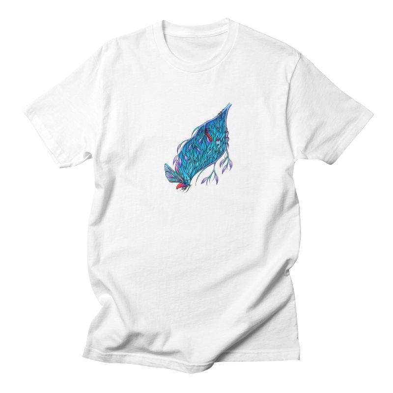 Blue Women's Unisex T-Shirt by WarduckDesign's Artist Shop