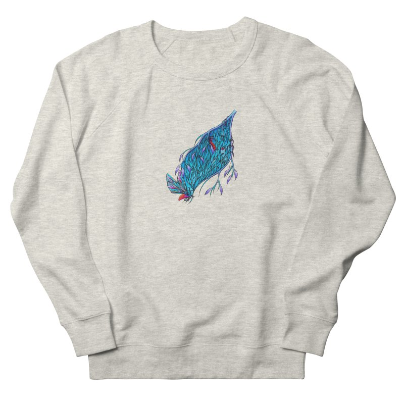 Blue Men's Sweatshirt by WarduckDesign's Artist Shop