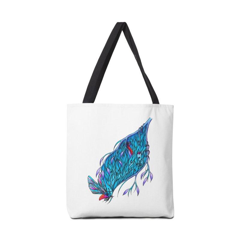 Blue Accessories Bag by WarduckDesign's Artist Shop