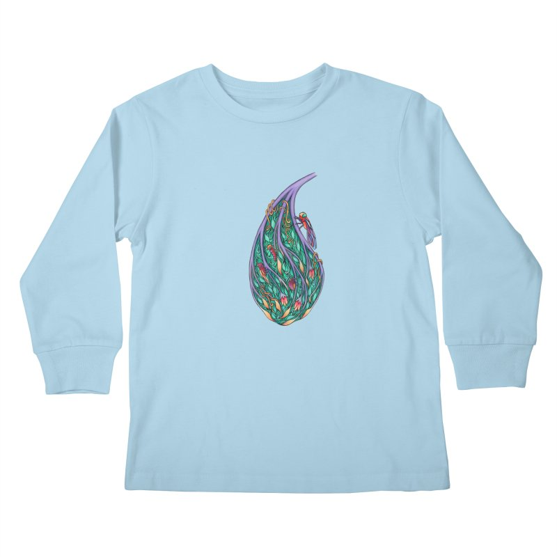 Symbiosis is an Unattainable Goal Kids Longsleeve T-Shirt by WarduckDesign's Artist Shop