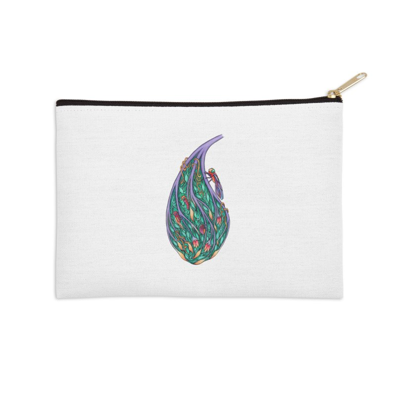 Symbiosis is an Unattainable Goal Accessories Zip Pouch by WarduckDesign's Artist Shop
