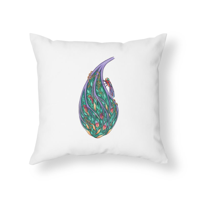 Symbiosis is an Unattainable Goal Home Throw Pillow by WarduckDesign's Artist Shop