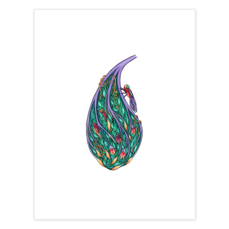 Symbiosis is an Unattainable Goal Home Fine Art Print by WarduckDesign's Artist Shop