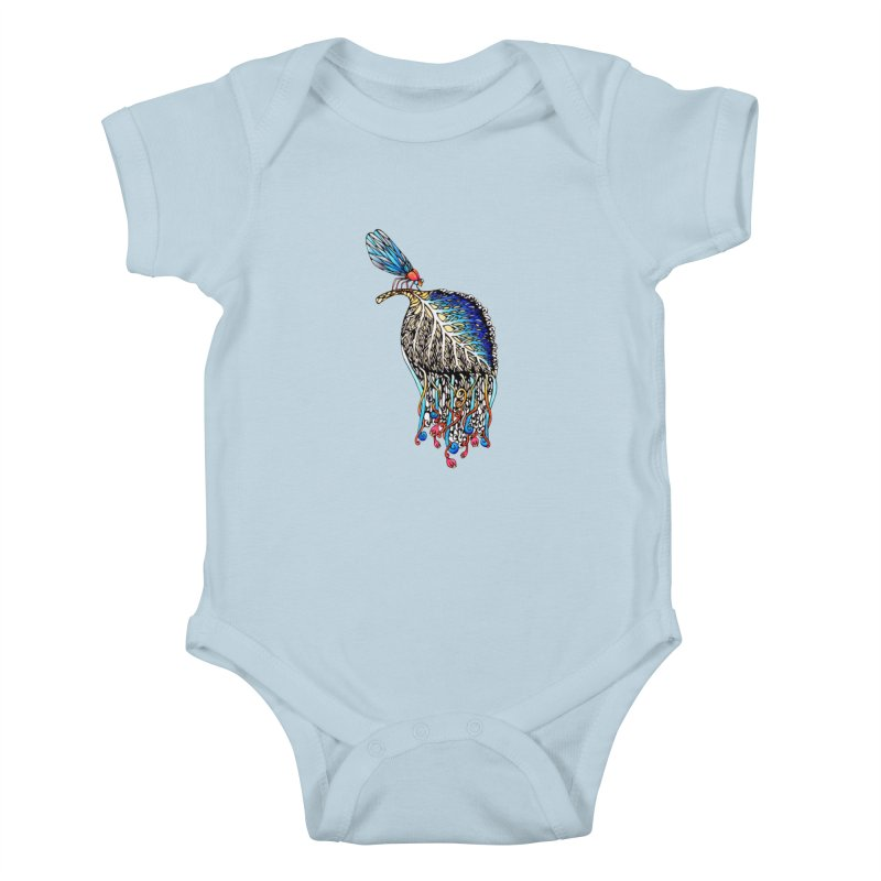 We Eat Beauty to Become Beauty  Kids Baby Bodysuit by WarduckDesign's Artist Shop
