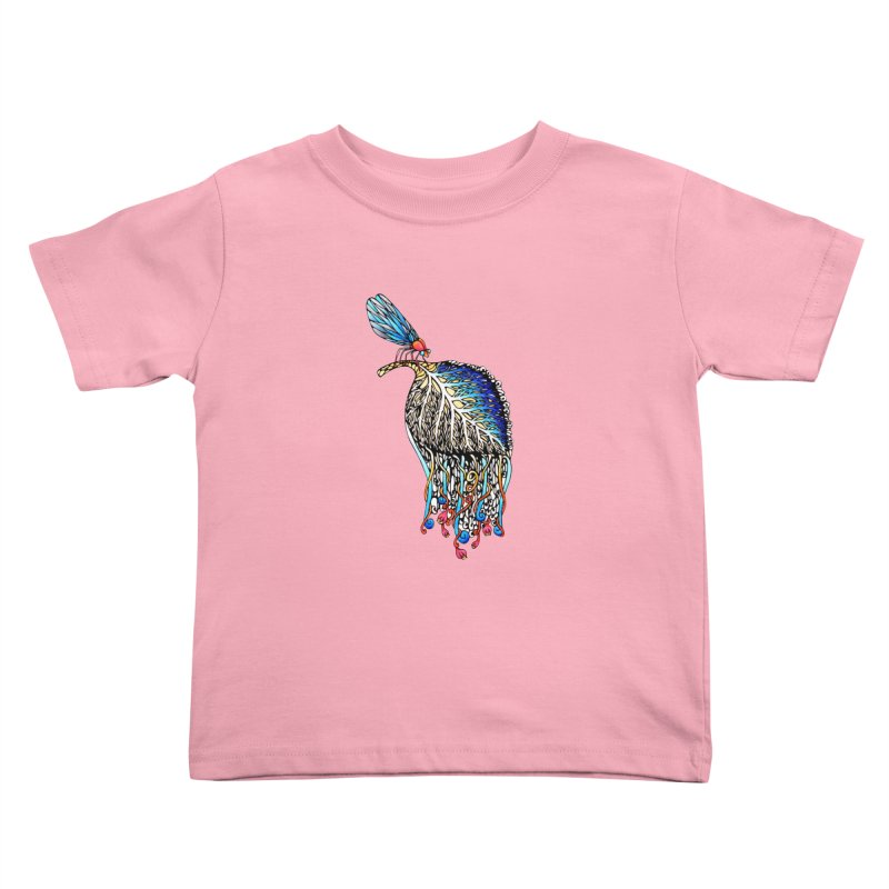 We Eat Beauty to Become Beauty  Kids Toddler T-Shirt by WarduckDesign's Artist Shop