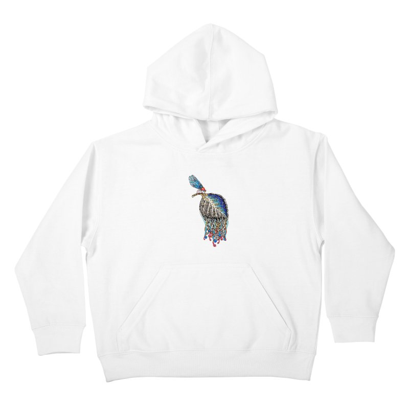 We Eat Beauty to Become Beauty  Kids Pullover Hoody by WarduckDesign's Artist Shop
