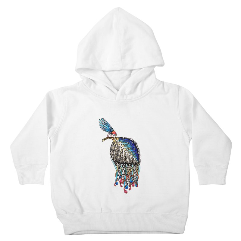 We Eat Beauty to Become Beauty  Kids Toddler Pullover Hoody by WarduckDesign's Artist Shop