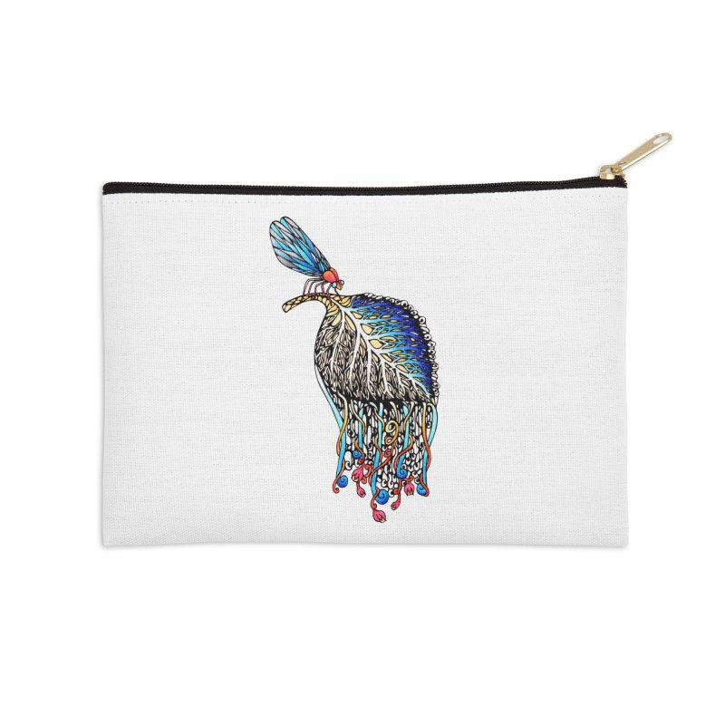 We Eat Beauty to Become Beauty  Accessories Zip Pouch by WarduckDesign's Artist Shop