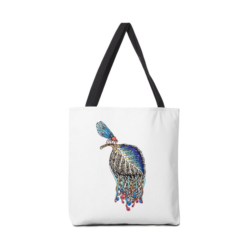 We Eat Beauty to Become Beauty  Accessories Bag by WarduckDesign's Artist Shop