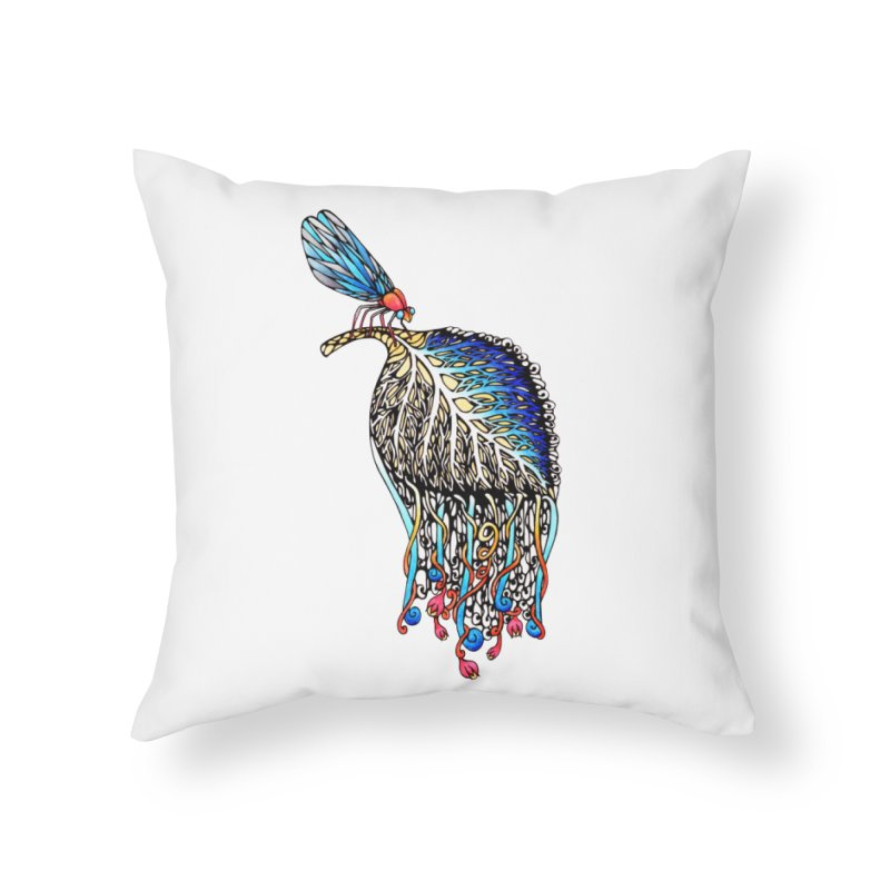 We Eat Beauty to Become Beauty  Home Throw Pillow by WarduckDesign's Artist Shop