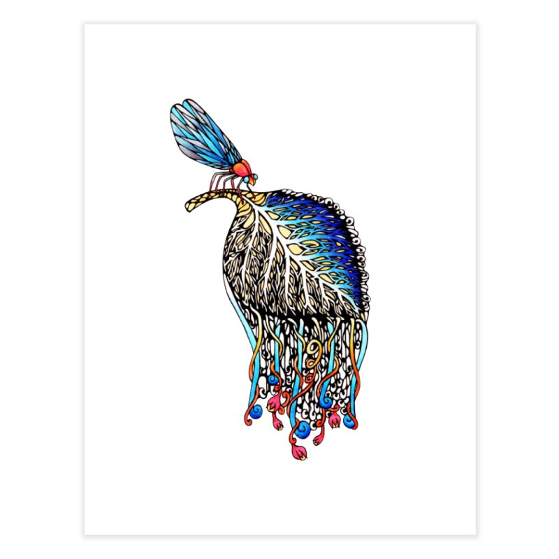 We Eat Beauty to Become Beauty  Home Fine Art Print by WarduckDesign's Artist Shop