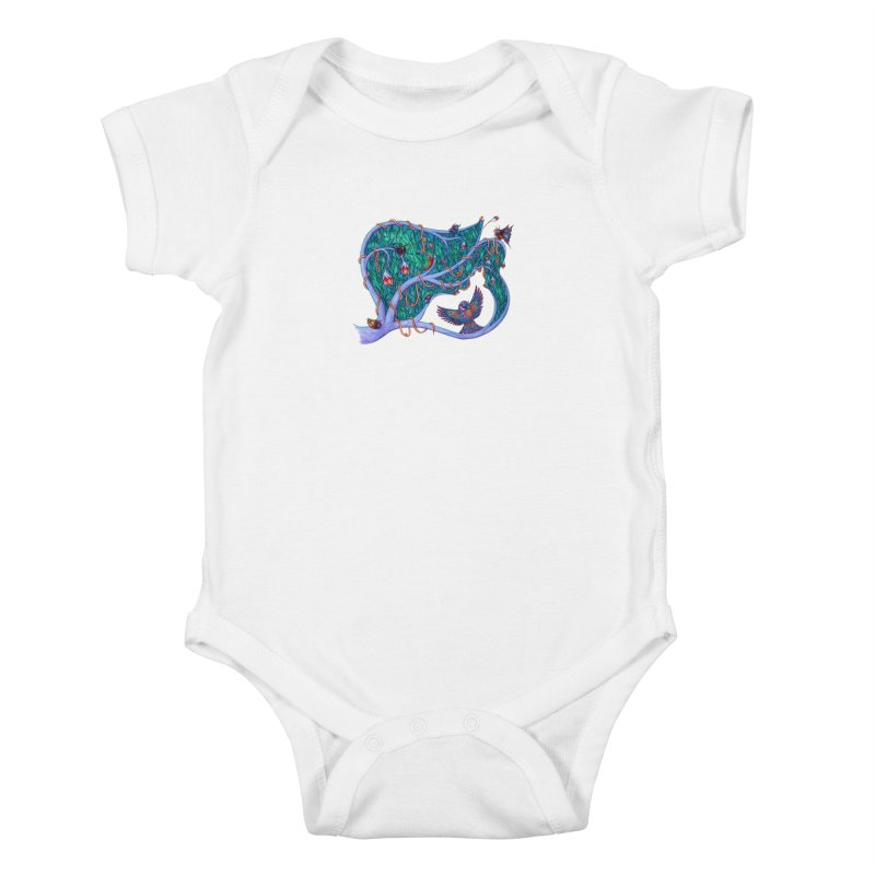 The Spirit of the Times Kids Baby Bodysuit by WarduckDesign's Artist Shop