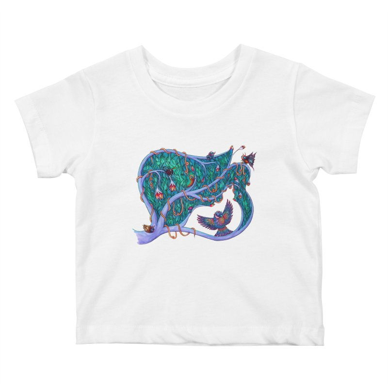 The Spirit of the Times Kids Baby T-Shirt by WarduckDesign's Artist Shop