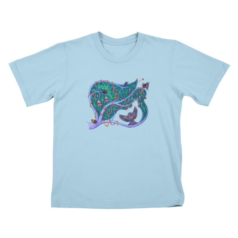 The Spirit of the Times Kids T-shirt by WarduckDesign's Artist Shop